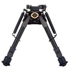 "kungfuren Tactical Rifle Bipod Quicklock EZ Pivot & Pan QD 7"" - 10.5"": Picatinny Mount, Extendable, Folding, with Sling-attached Hole"
