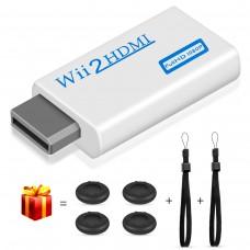 Wii HDMI Converter, kungfuren【2018 Upgraded】Wii HDMI Adapter