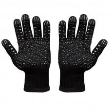 kungfuren Oven gloves BBQ backgloves for men and women