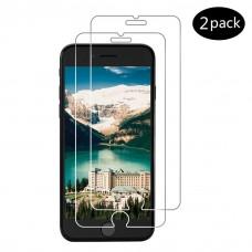 kungfuren (2 Pezzi) Pellicola Vetro Temperato per iPhone 7/8, Pellicola Protettiva Proteggi Schermo [Alta Definizione] [Installazione facile] [9H Durezza] [No-bolla] [Gratta Resist] [Anti-impronte] Ultra chiaro-Screen Protector per iPhone 7/8