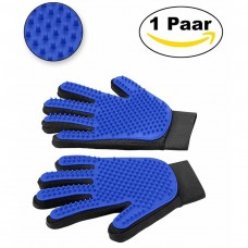 kungfuren Premium Fellpflegehandschuhe mit 259 Pins – Grooming Glove mit Massagefunktion – Einfache Entfernung Loser Tierhaare – Ideal für Hunde und Katzen mit Langem Oder Kurzem Fell