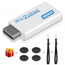 Wii HDMI Converter, kungfuren【2018 Upgraded】Wii HDMI Adapter