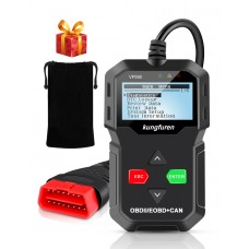 kungfuren OBD2,Universal USB Cable Car Engine Error Code Scanner Diagnostic Scan Tool for All OBDII Protocol Cars