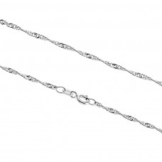kungfuren Silver Necklace Neck Chain