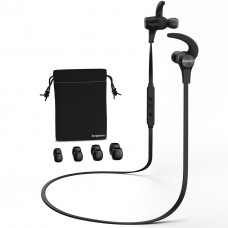 kungfuren SX7 Wireless Headphone, Stereo In-Ear Noise Canceling, Sweat Feste Insulating Earplugs