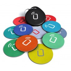 kungfuren 10 Pack + Keychain + bonus a free Tag - Android writable and programmable - adhesive sticker