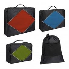 kungfuren Packing Cubes Shoe Bags Suitcase Organizer Set 4 pieces