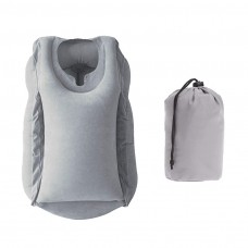 kungfuren Inflatable Travel Pillow Ergonomic neck pillow for comfortable sleep in the plane, train, car, bus and office