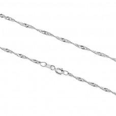 kungfuren Silver Necklace Neck Chain
