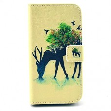 kungfuren Protective Leather Case Wallet Flip Cover Case for Samsung Galaxy S3 SIII i9300 / S3 Neo i9301