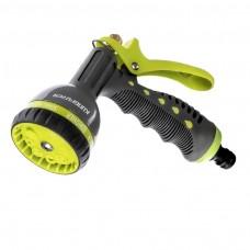 kungfuren 8-Pattern Heavy Duty Hose Head. Garden Hose Nozzle - Hand Sprayer. Life Time Warranty