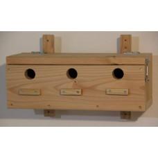 kungfuren Birdhouse for a sparrow colony