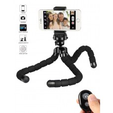 kungfuren Tripod for iphone Tripod stand with Remote Shutter for Android iOS Phone Ipad Tablet Digital Camera Gopro